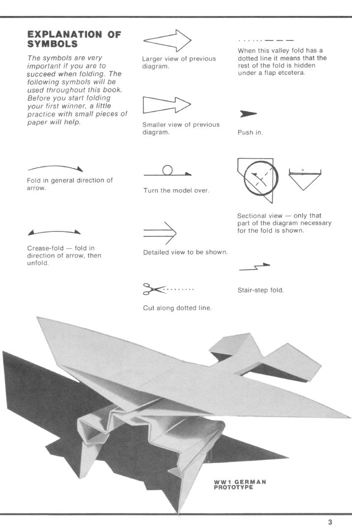 Paper Aircraft Instructions